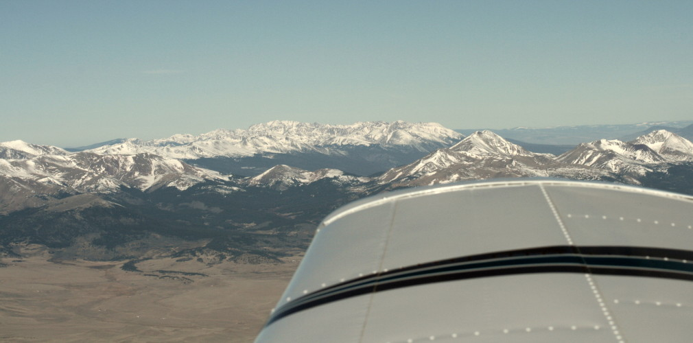 Fixed Wing Pipeline Patrol in Colorado