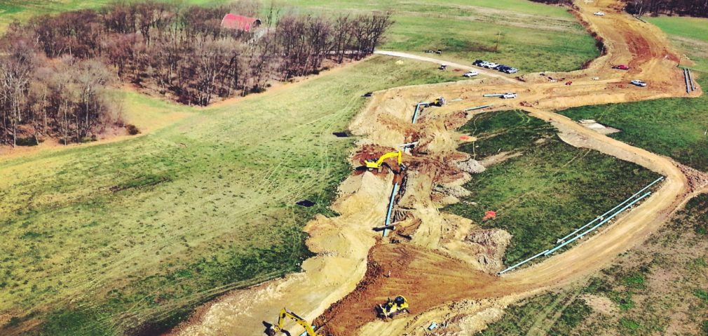 Aerial View of New Pipeline Patrol