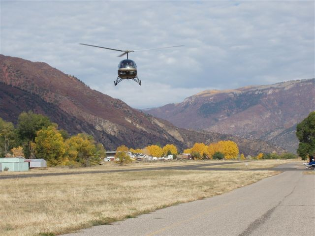 Helicopter Pipeline Patrol in Wyoming